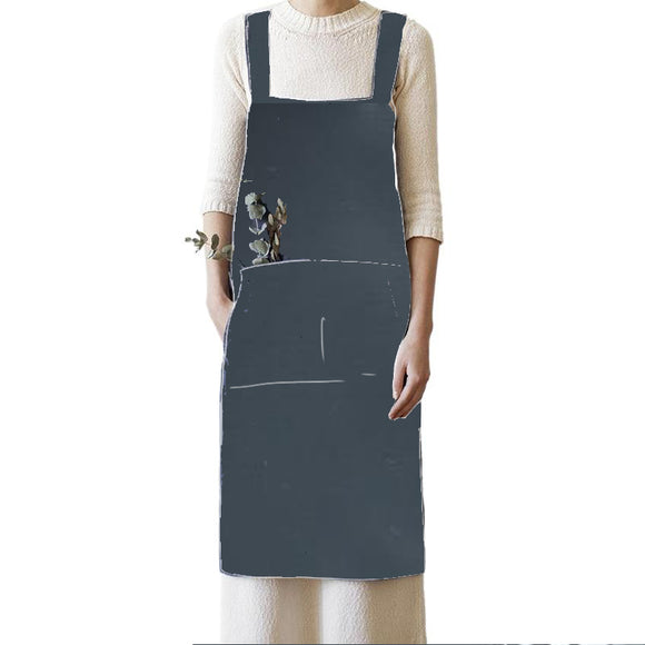 WATERPROOF Cross Back Apron - RECYCLED NYLON (PRE-ORDER)