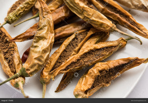 Sandagi Mirchi: Sun Dried Stuffed Mirchi