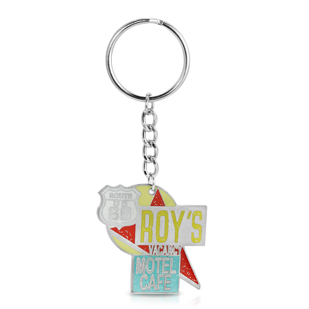 Roy's Motel Cafe Famous Sign Keychain