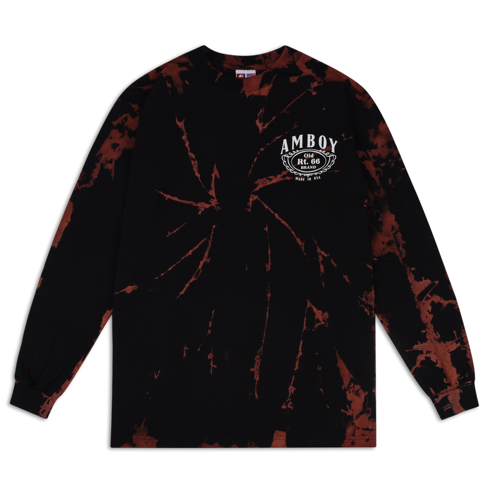 Rt 66 Whiskey Long Sleeve (Bleached)