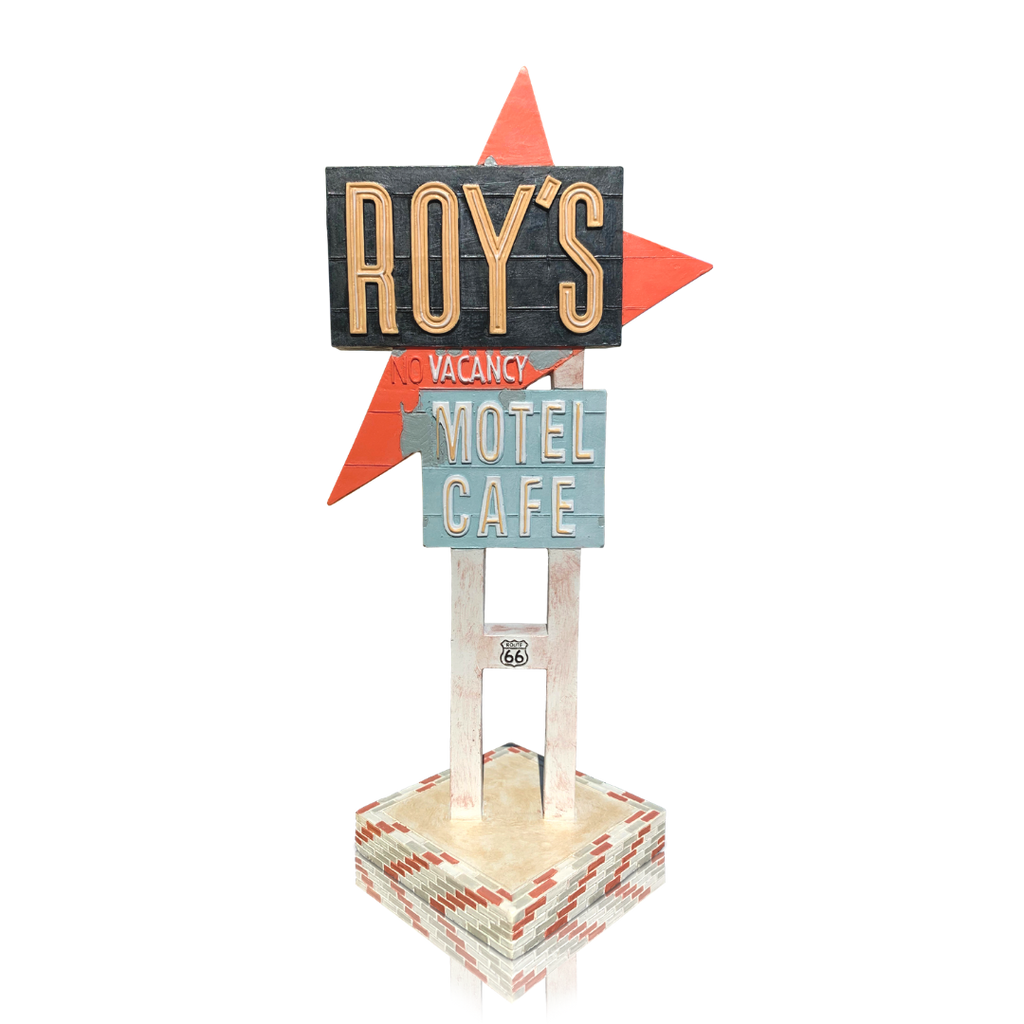 Roy's 1st Edition Retro Sign Collectible Vintage 1/60 Scale Souvenir Replica Out Of Box