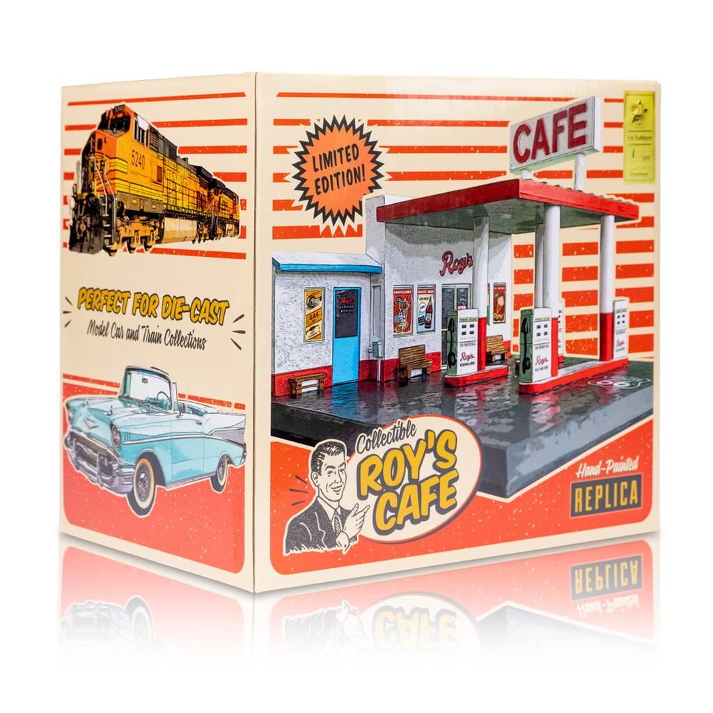 1st Edition, Roy's Cafe, 1/43 Scale Replica, Retro Box