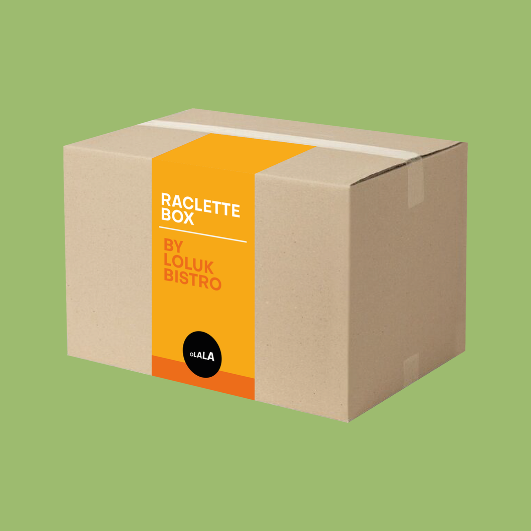 Raclette Box | Vegetarian