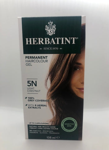 Herbatint Hair Colour - 5N (Light Chestnut)