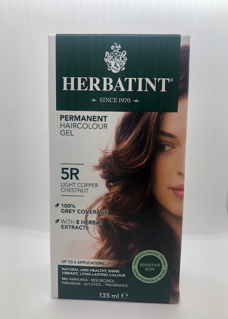 Herbatint Hair Colour - 5R (light copper chestnut)