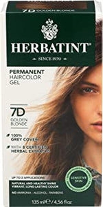 Herbatint Hair Colour - 7D (golden blond)