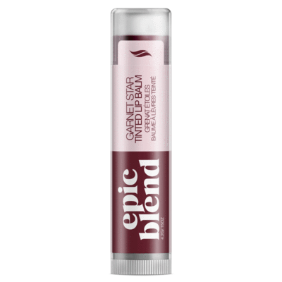 tinted lip blam - merlot colour