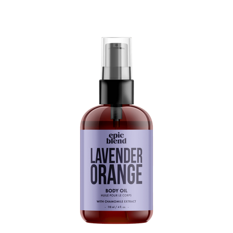 Lavender Body Oil