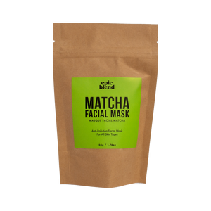 facial mask matcha