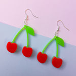 Load image into Gallery viewer, Cherry Hook Earrings