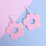 Load image into Gallery viewer, Flower Drop Studs - Available in 13 Colours