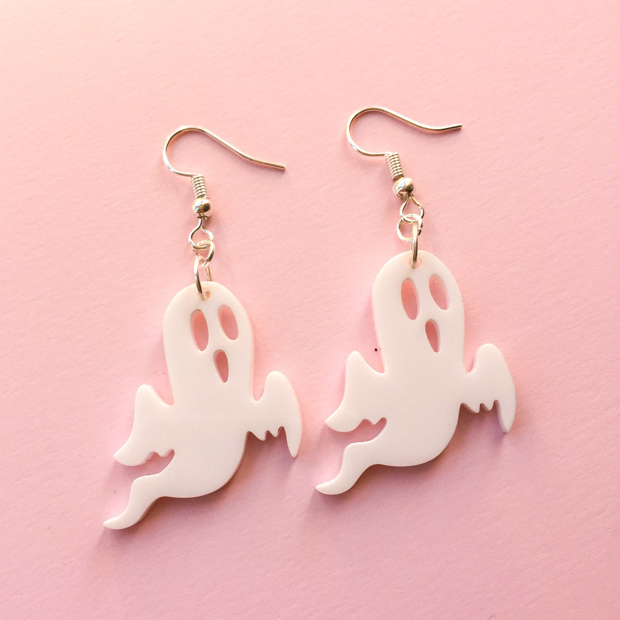 Ghost Hook Earrings