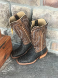 Men's Ariat Showman Full Quill Ostrich Square Toe Boot