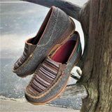 Twisted X  ECO Dust/Multi Brown Slip On Driving Mocs