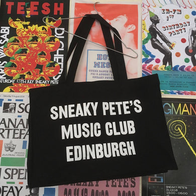 Profits to our staff: The last ever Sneaky Pete's XL Shopper Tote Bag