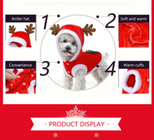 Load image into Gallery viewer, Christmas Santa Costume Dog Clothes