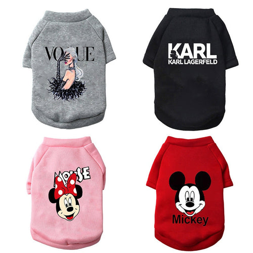 Christmas Clothing Dog Hoodies
