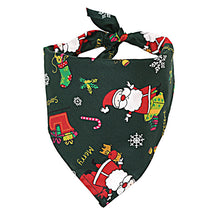 Load image into Gallery viewer, Christmas Pet Dog Bandana