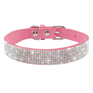 Adjustable Leather Puppy Cat Collars