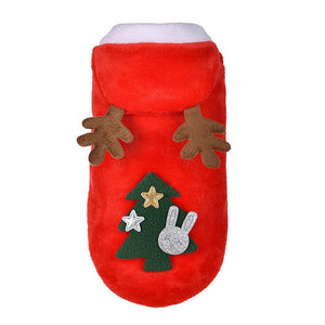 Christmas Santa Costume Dog Clothes