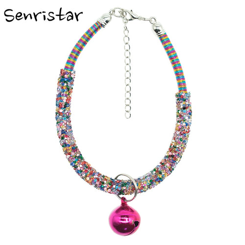 Rhinestone Fashion Pet Cat Collar