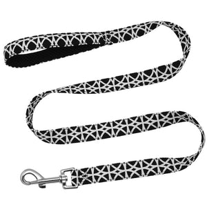 black high quality dog leashes