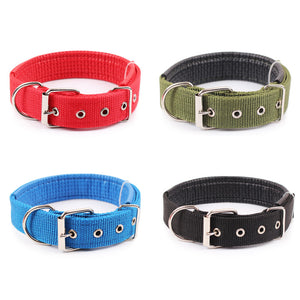 Comfortable Adjustable Nylon Strap Dog Collar