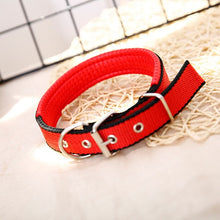 Load image into Gallery viewer, Comfortable Adjustable Nylon Strap Dog Collar
