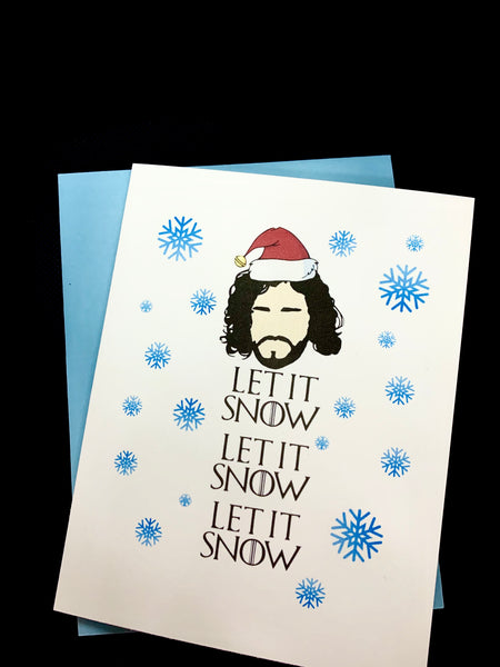 Game of a Thrones Inspired Holiday Cards