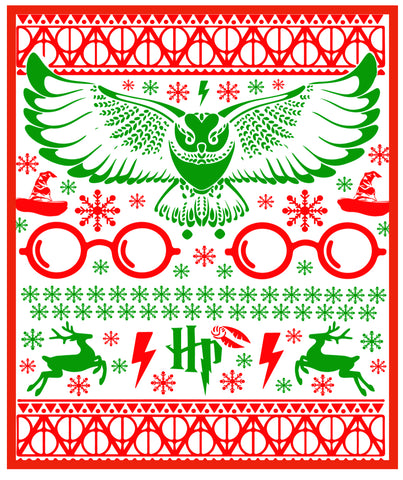 Harry Potter Holiday/Christmas Card