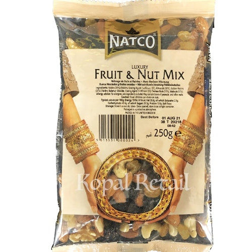 Natco Luxury Fruit and Nut Mix 250g