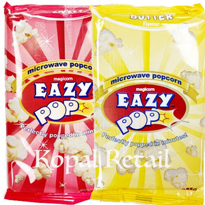 Eazy Pop (Microwave Popcorn) Sweet/Butter/Salted 85g