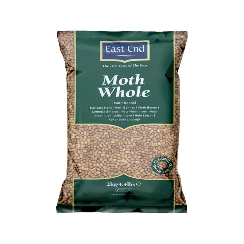 East End Moth (Whole) Beans Indian 1kg