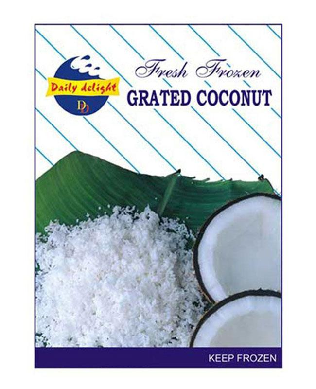 Daily Delight Frozen Grated Coconut 400g