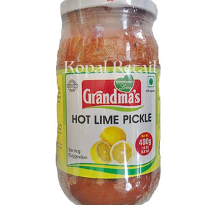 Grandma's Hot Lime Pickle 400g