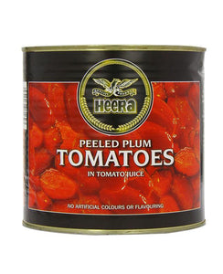 Heera Peeled Plum Tomatoes In Tomato Juice 400g