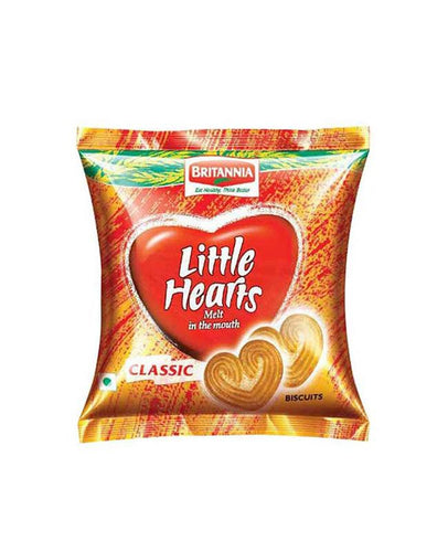 Britannia Little Hearts Biscuits 75gm