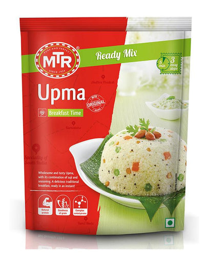 MTR Plain Upma Mix (Seasoned Semolina Mix) 200gm