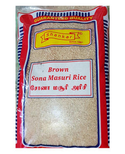 Shankar Brown Sona Masoori Rice 1 Kg