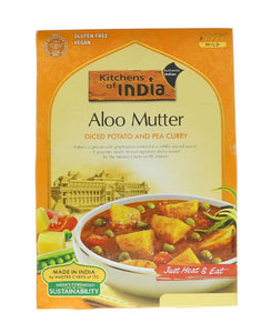 Kitchens Of India Aloo Mutter(Diced Potato And Pea Curry)