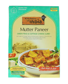 Kitchens Of India Mutter Paneer (Green Peas & Cottage Cheese Curry)