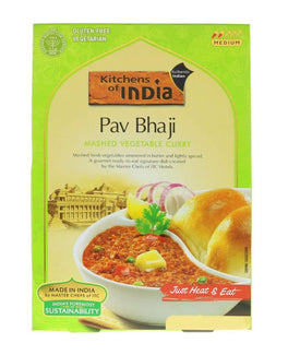 Kitchens Of India Pav Bhaji (Mashed Vegetable Curry )