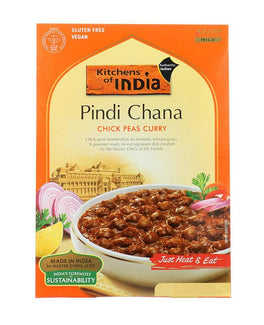 Kitchens Of India Pindi Chana (Chick Peas Curry)