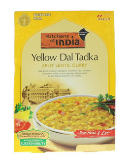 Kitchens Of India Yellow Dal Tadka (Split Lentil Curry)