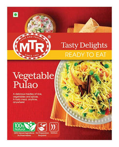 MTR Vegetable Pulao With Basmati Rice