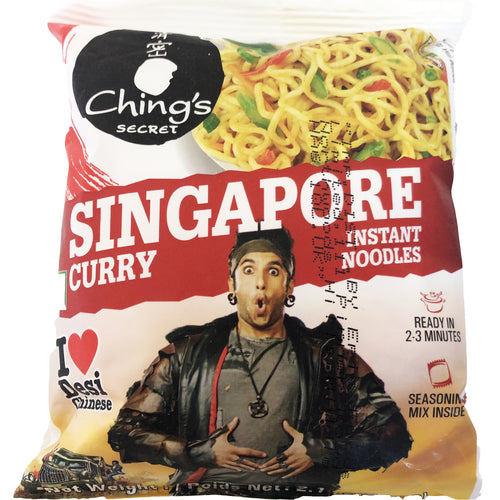 Chings Singapore Curry Noodles