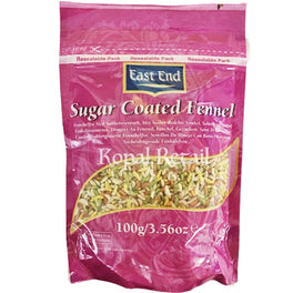 East End Fennel Sugar Coated 100g
