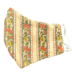 Organic Cotton Face Mask-Kalamkari (KR011)