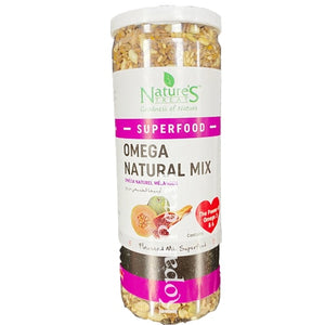 Nature's Treat Omega Natural Mix 160g(Superfood)