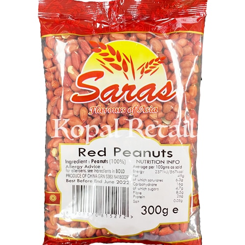 Saras Red Peanuts